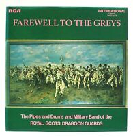 """The Royal Scots Dragoon Guards – Farewell To The Greys 12"""" Vinyl LP FREE UK P&P"""