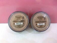 Lot of 2 BareMinerals All Over Face Color 1.5 g/ 0.05 oz. Bronzer - Faux Tan