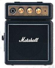 MARSHALL MS-2 MICRO AMPLIFICATORE - NERO BLACK