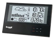 Funkwetterstation Funk  Wetterstation WS800 SlimLine Barometer Funksensor
