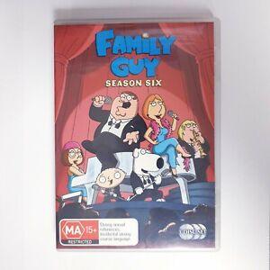 Family Guy Season 6 DVD TV Series Free Postage Region 4 AUS - Comedy Animation