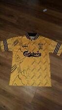 Liverpool Football Shirt Medium Retro Replica