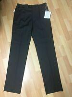 NWT Mens Emporio Armani 100% Lana Wool Formal Trouser Black W32 H8.5 RRP£145