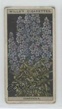 1925 Wills Flower Culture in Pots Tobacco Base #12 Campanula Non-Sports Card 1t5