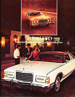 1976 Ford LTD Sales Original Dealer Brochure - Brougham