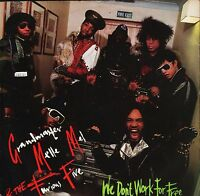 """GRANDMASTER MELLE MEL AND THE FURIOUS FIVE we don't work for free 7"""" PS EX/EX"""