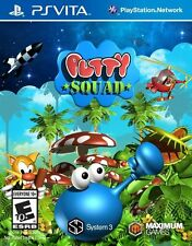 Putty Squad RE-SEALED Sony PlayStation Vita GAME