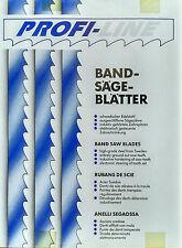 3 Stück Bandsägeblätter 4280x20 6mm Zahnung aus Edelstahl passend für Kolbe K800