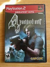 Resident Evil 4 Sony PlayStation 2 PS2 LIKE NEW COMPLETE IN BOX CIB FLAWLESS