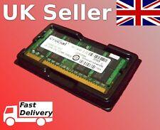 Crucial 2GB Laptop RAM (1x2GB) DDR2 667/800mhz PC2-6400s memory 200 pin SO-DIMM