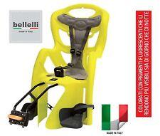 LAMPO SEGGIOLINO POSTERIORE BICICLETTA max22KG ALTA VISIBILITA Bellelli SPORTONE