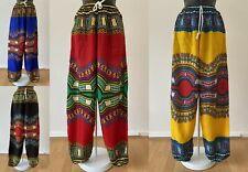 Impresión Dashiki Africano Pantalones Pantalones De Verano Ligero Funky informal largo Yoga