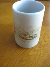 Otagiri Japan Stoneware Mug Antique Cars Embossed