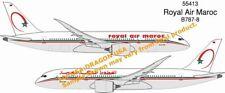 Dragon #55413 1/400 Royal Air Maroc B787-8