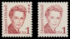 Margaret Mitchell 2168 2168b Great Americans 1c Color Variety Set MNH - Buy Now