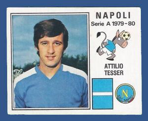 FIGURINA CALCIATORI PANINI 1979/80 - RECUPERO N.197 TESSER - NAPOLI