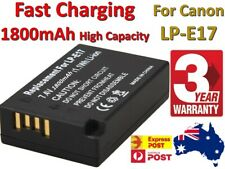 Replace LP-E17 Battery for Canon EOS M3 M5 M6 77D 200D 750D 760D 800D 1800mAh