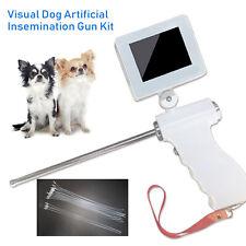 "Visual Endoscope Sperm Gun Artificial Dog Insemination Gun Kit 3.5"" 5Mp Camera"