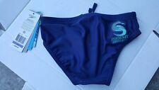 Speedo Women's NAVY Swimsuit  Bikini Bottom SIZE 26 NICE