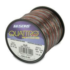 Hi-Seas Quattro Monofilament Line, 250 Yard, 50 Pound Test, Camouflage - 4 color