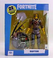 McFarlane Toys Fortnite RAPTOR 7 Inch Action Figure 22 Moving Parts Epic Games