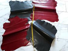 LEDER TIP 29703-K, Lederreste, 4-Lederhäute-Konvolut, verschiedene Farben nappa