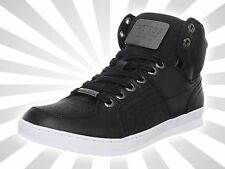 Pre-Owned Guess Men's Trippy Black Fashion Sneaker Shoe Boot 10.5 M US
