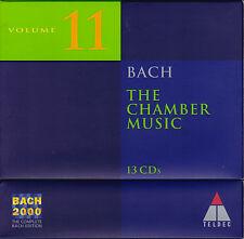 BACH 2000 VOL. 11: THE CHAMBER MUSIC Kammermusik. 13 CDs, sehr gut
