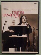 nana mouskouri NANA SWINGS live at jazzopen festival   DVD includes insert