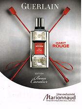 PUBLICITE ADVERTISING 094  2009  GUERLAIN  parfum pour homme