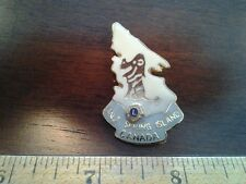 LIONS CLUB COLLECTORS PIN  CANADA SALT SPRING ISLAND WITH LION IN ISLAND