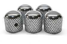 Early 50s Vintage Style Telecaster Blackguard Nocaster Domed Corse Knurled Knob