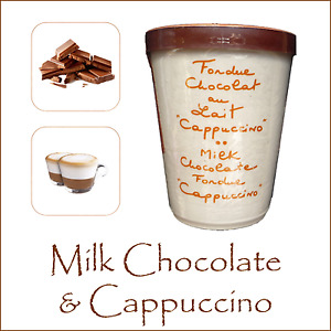 Chocolate Fondue Aux Anysetiers du Roy Milk Chocolate & Cappuccino Coffee Party