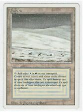 Tundra - Revised/3rd Edition - Light-to-Moderate Play - Dual lands - Magic MTG
