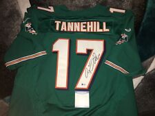Ryan Tannehill Signed Miami Dolphins Jersey Star Quarterback Texas A&M Beckett