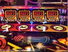 KISS PRO STERN Pinball Machine Target Cushioned Decals