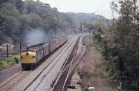 Metro North? Railroad Train Streamliner Locomotive Original 1981 Photo Slide