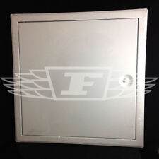WHITE ACCESS PANELS INSPECTION HATCH STEEL REVISION DOOR 300mm 450mm 600mm
