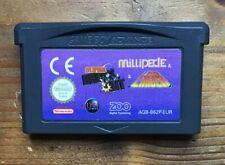 Gameboy Advance 3 In 1 Game Card Only. Millipede. Super Break Out. Laser. PAL