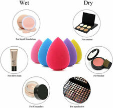 5 Pack Beauty Makeup Applicator Foundation Blender Buffer Sponge Flawless Smooth