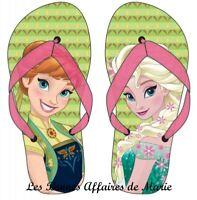 Tongs Sandales Fille Princesse Disney Reine des Neiges Frozen Elsa et Anna !