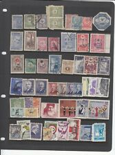 Turkey 50+ Old Stamps - MINT & USED see scan