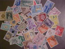 50 Different Turkey Stamp Collection - Lot