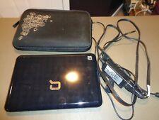 """Compaq Mini 110 1.6 GHz 160 GB HD 1 GB RAM Webcam 10"""" CPU N270 Laptop Notebook"""