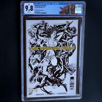 WALKING DEAD #94 (2012) 💥 CGC 9.8 💥 Image Expo Convention Michonne Sketch Cvr!