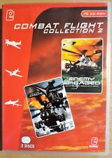 COMBAT FLIGHT COLLECTION PC CD-ROM SIMULATOR 2-GAME SET ENEMY ENGAGED HELICOPTOR