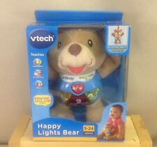 Happy Lights Bear By Vtech Attach To Crib-Numbers, Emotions, Music 3-24 Months