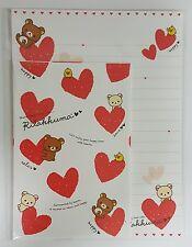 San-X Letter Sets Rilakkuma Surrounded By Hearts