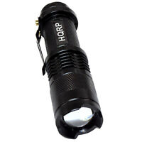HQRP 51 DEL UV 395 Presque comme neuf Ultra Violet Blacklight Flashlight torche Light UV Meter