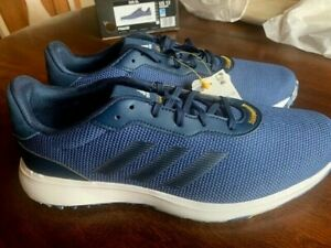 New in Box Men's Adidas S2G SL Golf Shoes - Retail $100 - Size 12 - Blue
